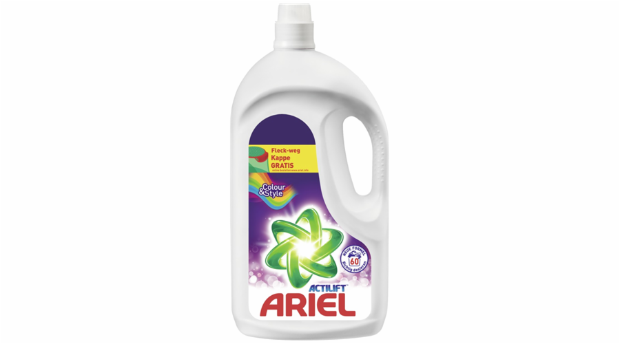 Gel na praní Ariel Colour&Style 3,9l, 60 PD