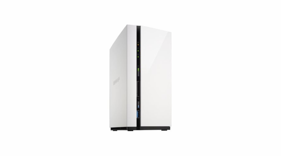 QNAP TS-228 Turbo NAS server, 1,1 GHz DC/1GB/2xHDD/1xGL/USB 3.0/Raid 0,1/iSCSI