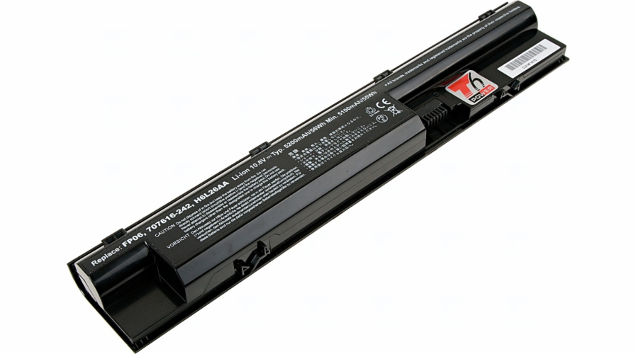 Baterie T6 power HP ProBook 440 G1, 445 G1, 450 G1, 455 G1, 470 G1, 470 G2, 6cell, 5200mAh