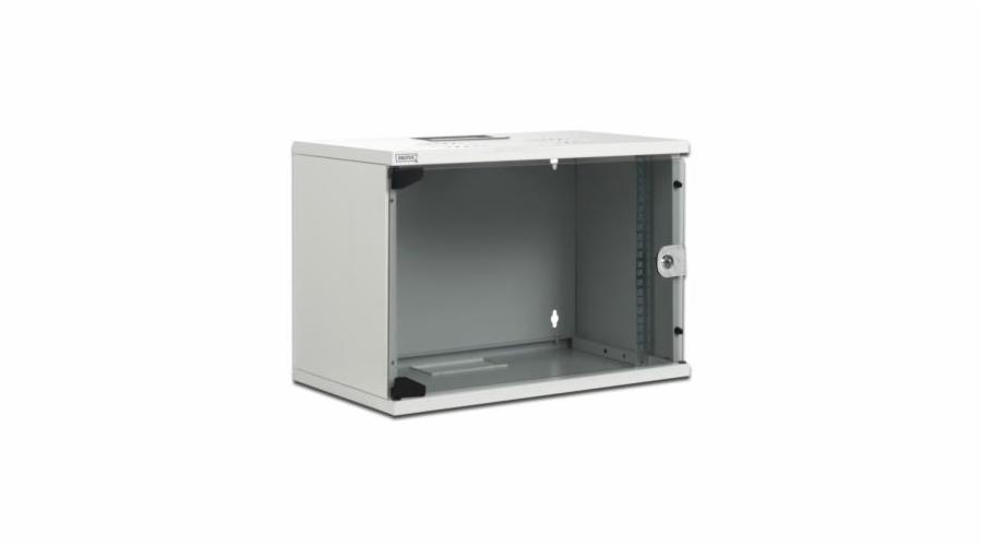 """Digitus ECO-Line 12U 19"""" nástěnná skříň, šedá, hl.40cm,nesmontovaná"""