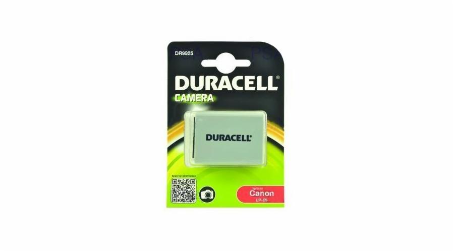 DURACELL Baterie - DR9925 pro Canon LP-E5, šedá, 1020 mAh, 7.4V