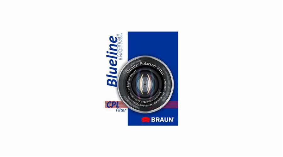 BRAUN C-PL polarizační filtr BlueLine - 62 mm