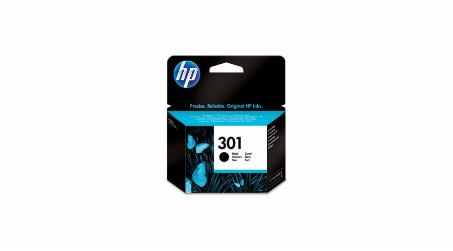 CH561EE ink. cartridge No.301 černá HP