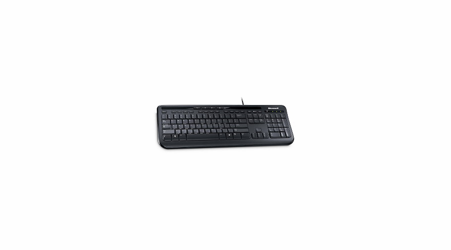 Microsoft Keyboard Wired 600, English, Black