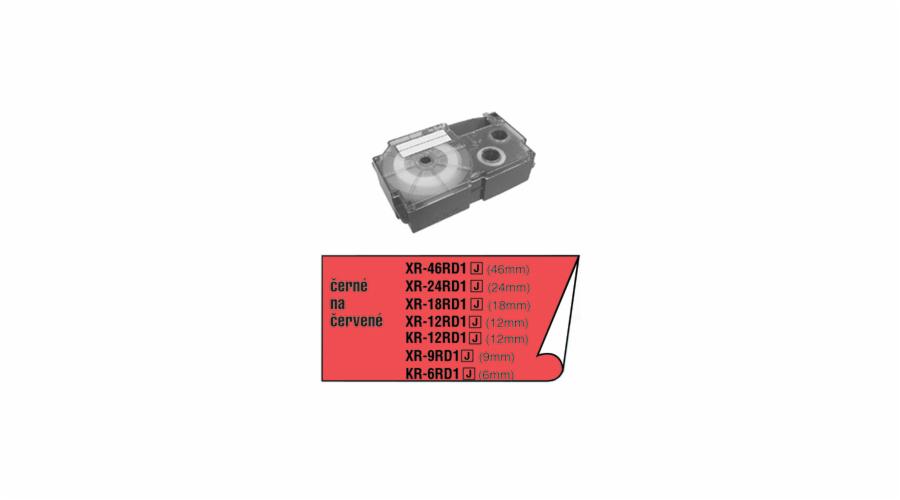 Barvící páska Casio XR 12 RD1