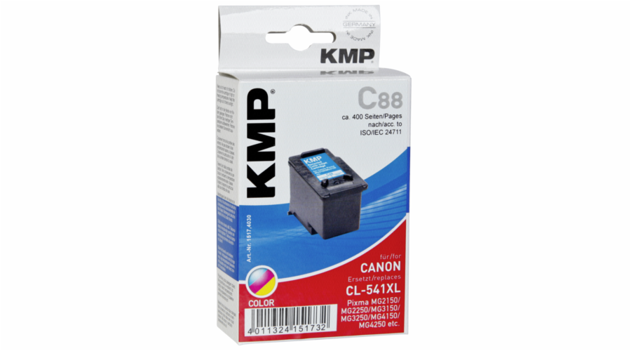 KMP C88 cartridge barevna kompatibilni s Canon CL-541 XL