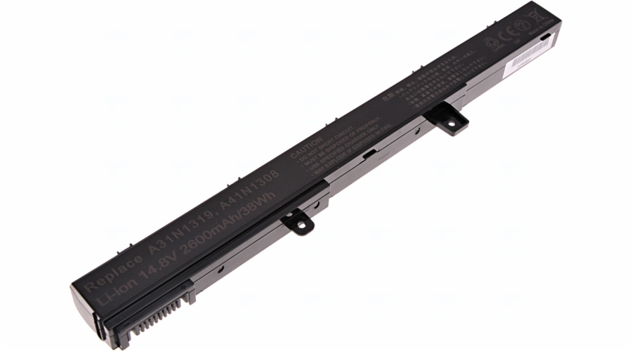 Baterie T6 power Asus X451, X551, F551, P551, R411, R512, RX551, 4cell, 2600mAh