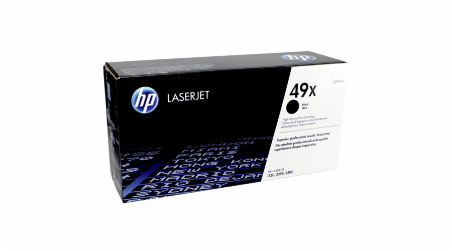 HP 49X Black LJ Toner Cart, 6 000 str, Q5949X