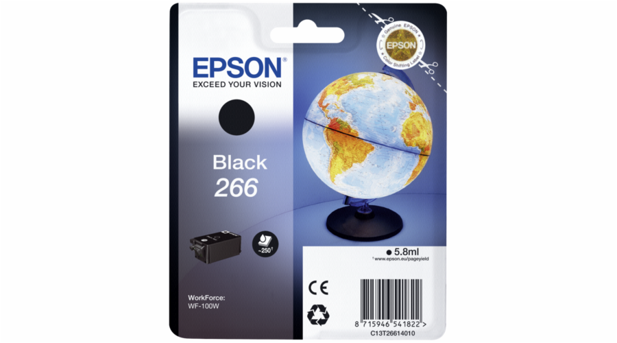 Epson ink cartridge black T 266