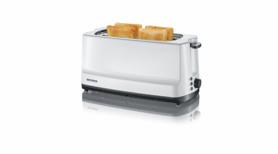Severin AT 2234 - dlouhý toaster se 2 sloty