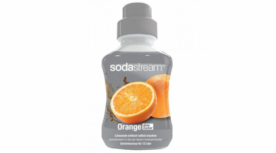 SodaStream sirup pomeranč 500ml bez cukru