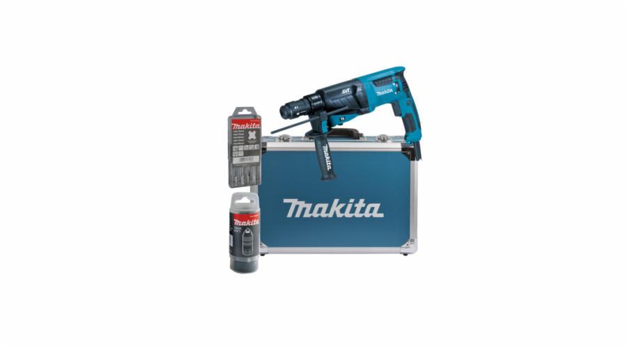 Makita HR2631FT13 pro SDS-Plus 26 mm v hliníkovém pouzdru