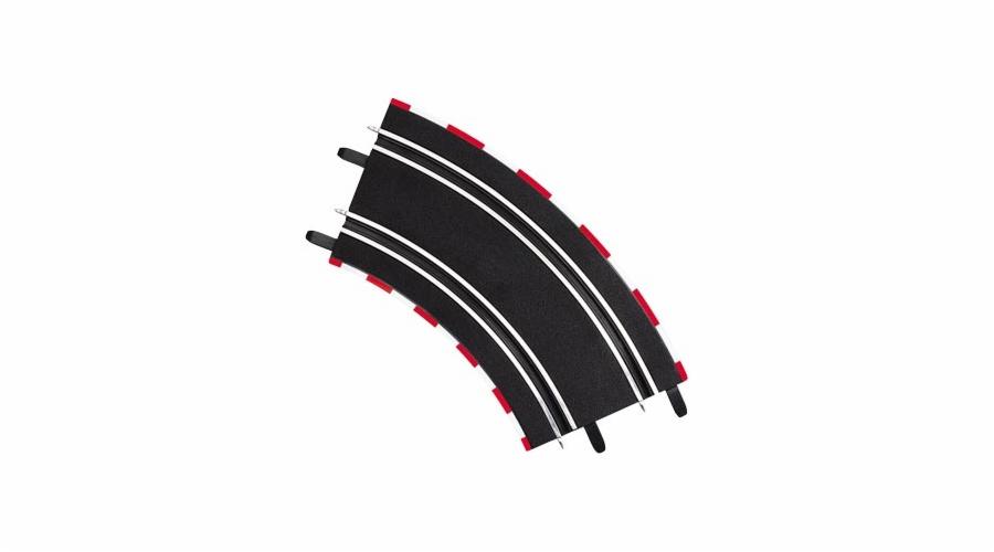 Zatáčka Carrera GO 61617 2/45° 4ks