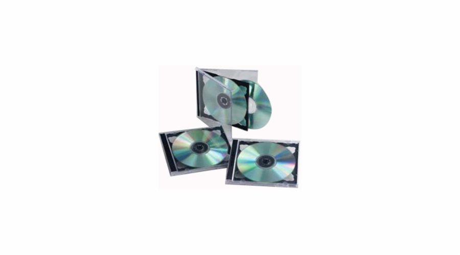 Obal CD DOUBLE JEWEL CASE COVERIT