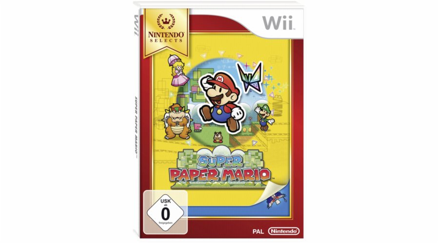 Nintendo Wii Super Paper Mario - Selects