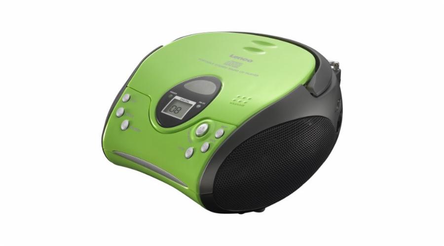 Rádio Lenco SCD-24 zelené-černé