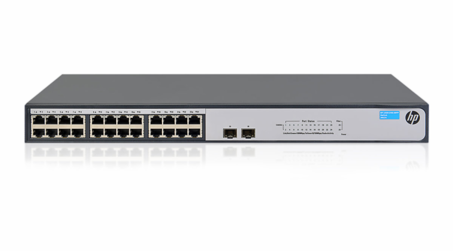 HPE 1420 24G 2SFP Switch