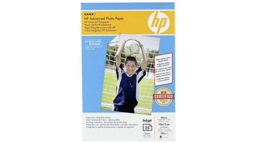 HP Advanced Glossy Photo Paper 10x15 cm, 25 sheet, 250 g Q8691A