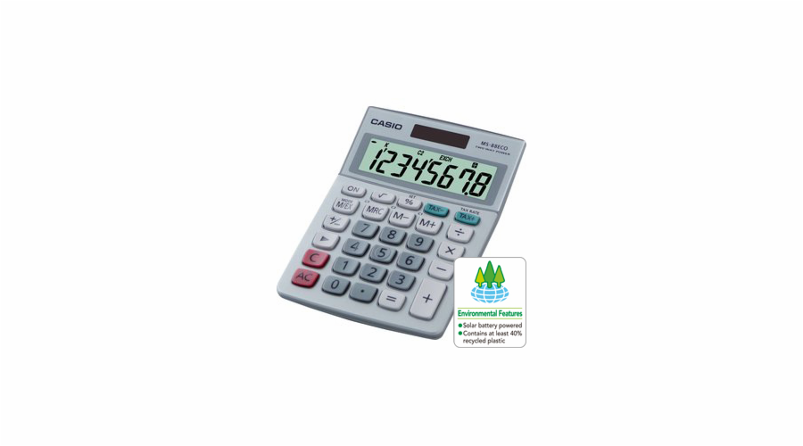 Kalkulačka Casio MS 88 ECO