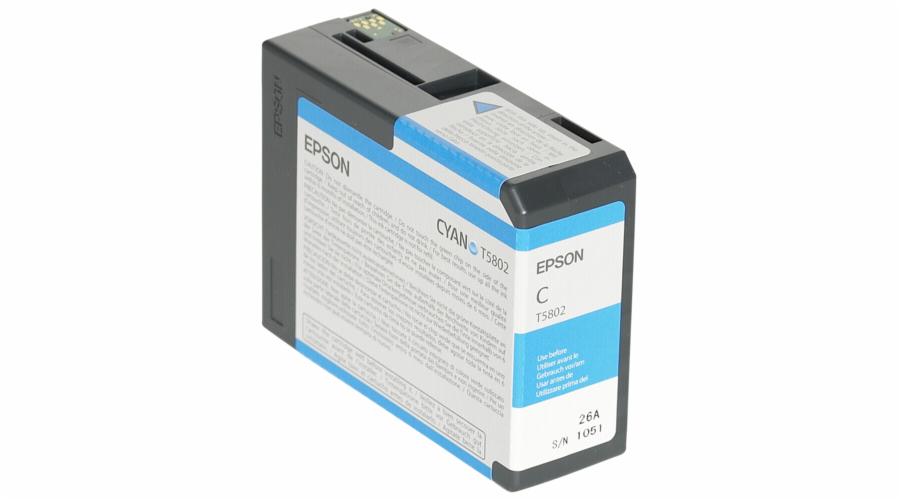 Epson ink cartridge cyan T 580 80 ml T 5802