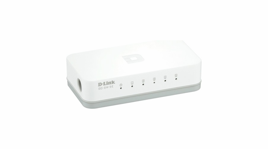 D Link Go 5 Port 10 100 Unmanaged Switch