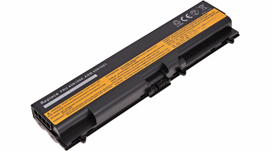 Baterie T6 power Lenovo ThinkPad T430, T430i, T530, T530i, L430, L530, W530, 6cell, 5200mAh