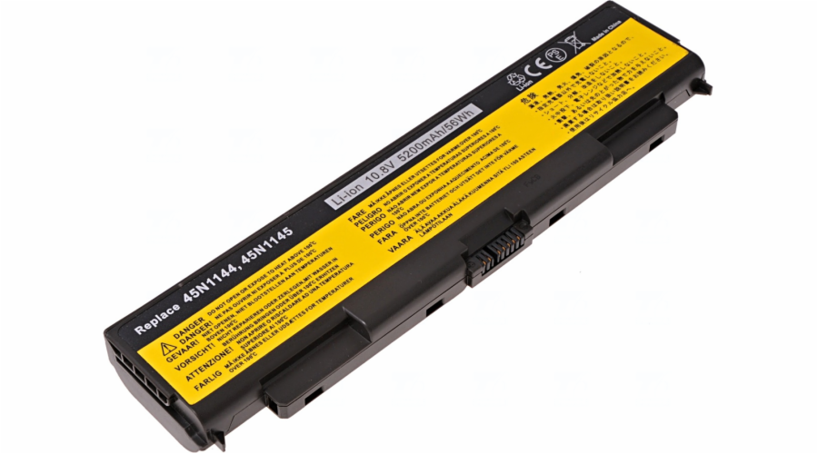 Baterie T6 power Lenovo ThinkPad T440p, T540p, W540, L440, L540 serie, 5200mAh