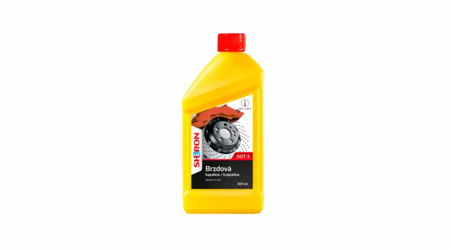 SHERON Brzdová kapalina DOT 3, 500 ml