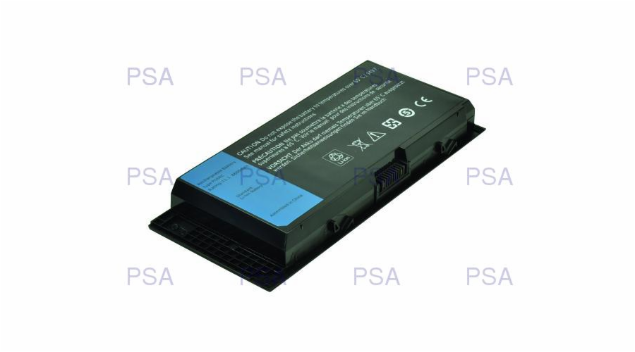 2-Power baterie pro DELL Precision M4600, M6600, M6700 11,1 V, 6900mAh, 9 cells
