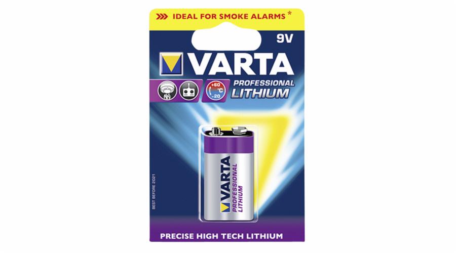1 Varta Professional Lithium 9V-Block 6 LR 61