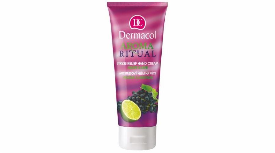 Péče o ruce Dermacol Aroma Ritual Hand Cream Grape&Lime 100ml