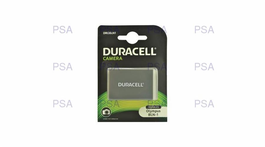 DURACELL Baterie - pro digitální fotoaparát nahrazuzuje Olympus BLN-1, 7,4 V, 1100 mAh