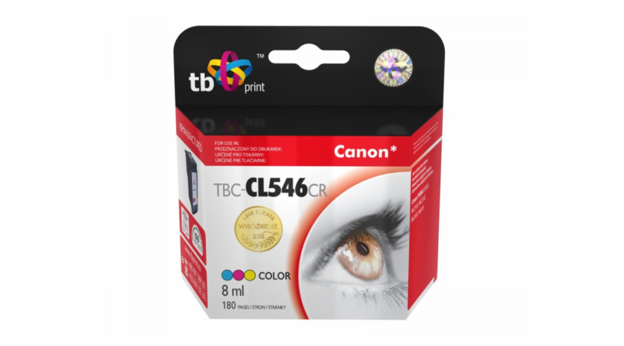 Ink. kazeta TB kompat. s Canon CL546