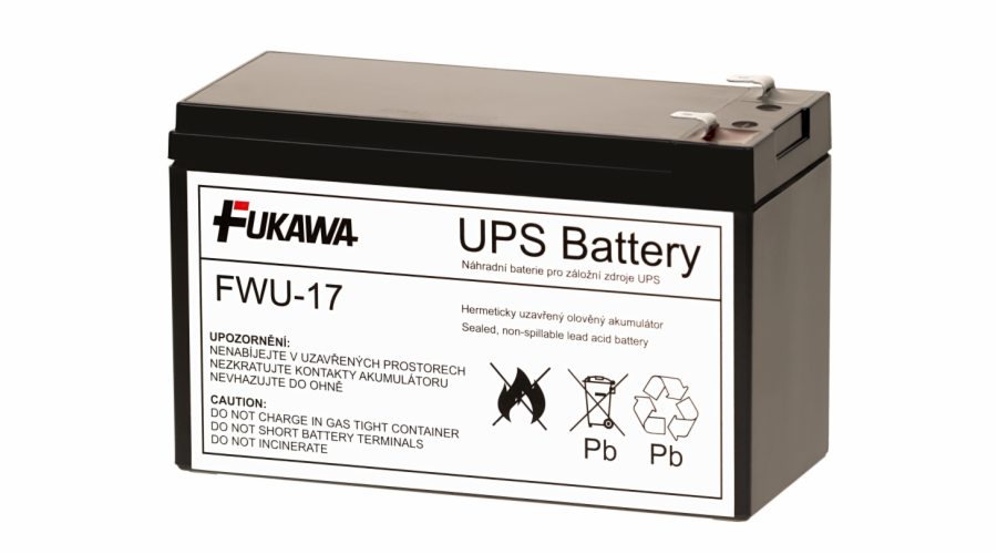 Akumulátor FWU-17 náhrada za RBC17