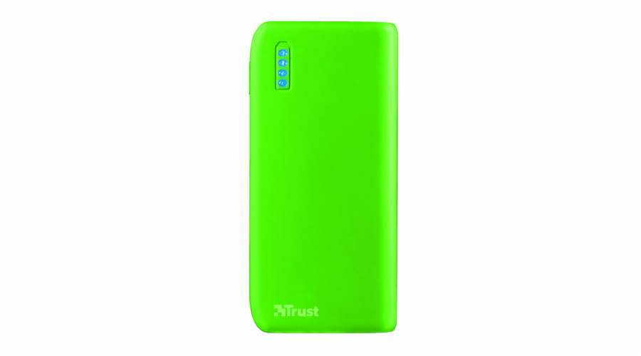 Trust Primo PowerBank 4400 Portable Charger - neon green