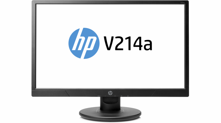HP V214a/ 20.7'' TN/ 1920x1080 / 600:1 / 5ms / 200cd/ VGA, HDMI/ audio 2x1W, 1/1/0