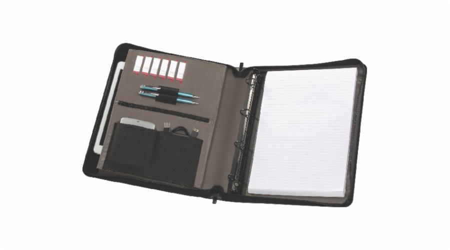 Wenger Affiliate black Padfolio Writing Case fits 10 Tablets
