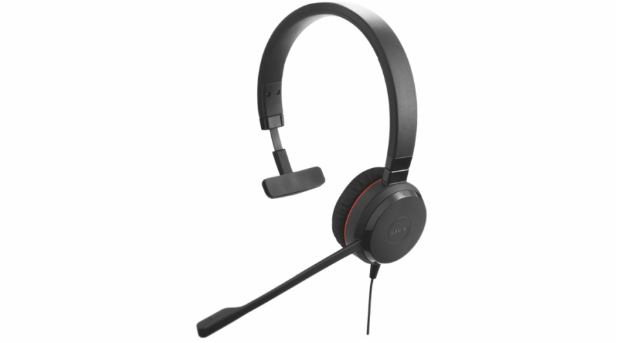 Jabra Evolve 20, Mono, USB, MS, leather