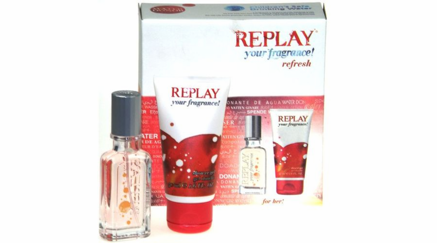 Toaletní voda Replay your fragrance! 20ml
