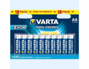 Baterie Varta High Energy AA LR6 10ks
