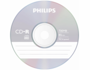 1x10 Philips CD-R 80Min 700MB 52x SL