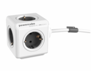 allocacoc PowerCube Extended vc. 1,5 m kabel seda typ F