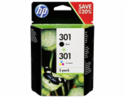 HP N9J72AE Combo 2-Pack BK/Color No. 301