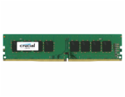 Crucial 8GB DDR4 2400 MT/s DIMM 288pin DR x8 unbuffered s...