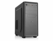 EVOLVEO R05, 500W 80%, PSU case ATX,2x USB2.0/1x USB3.0 1xHD Audio, 2x 120mm, černý