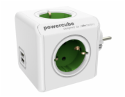 allocacoc PowerCube Original USB zelena Type F pro Extended Cubes